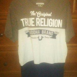 True Religion Mens Tee